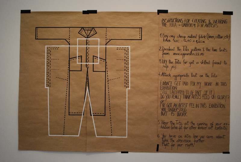 Apparatus 22, ART IS WORK (2011-2012)