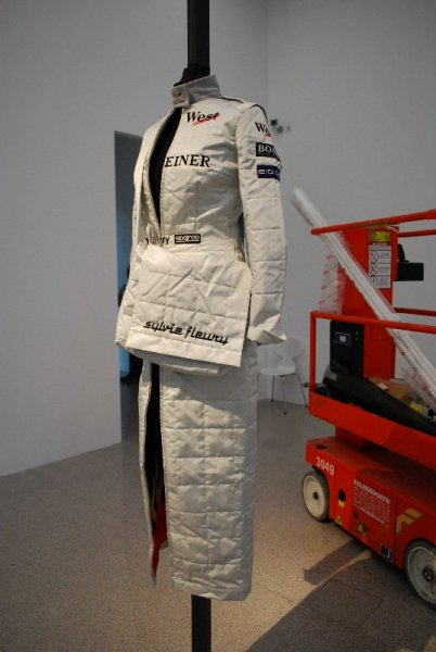 Sylvie Fleury, Formula One dress (1999)
