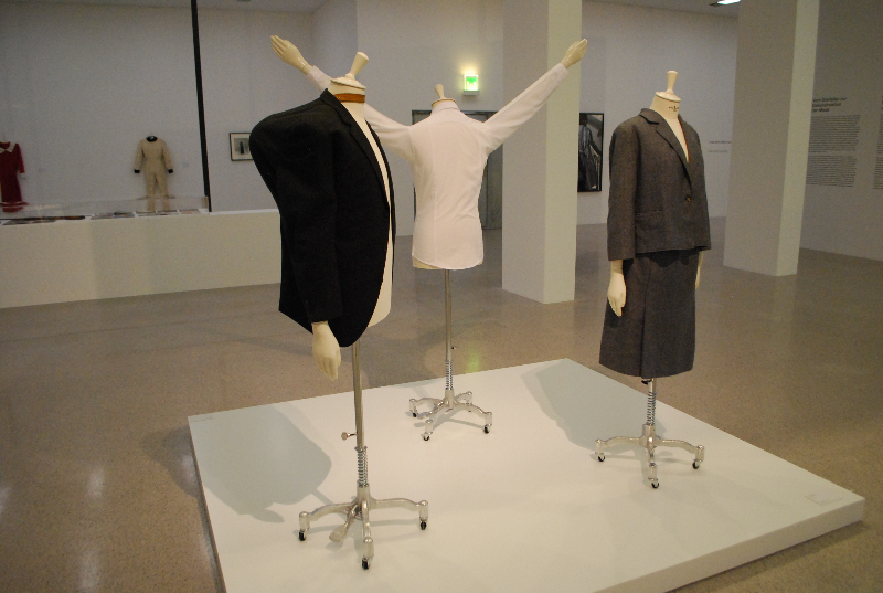 far left - Markus Schinwald, Hunch Jacket (1999)
