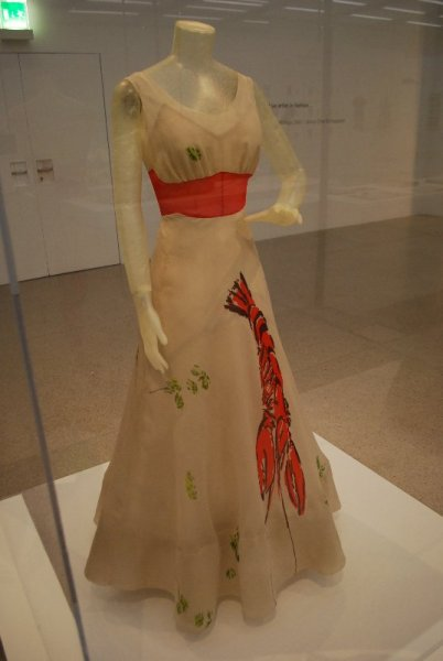 Elsa Schiaparelli (& Salvador Dali), Woman\'s Dinner Dress (1937)