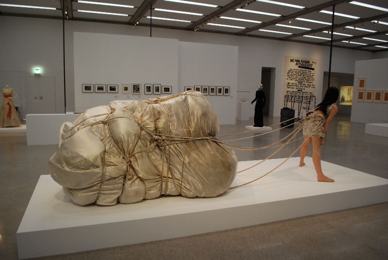 Christo, Wedding Dress (1967)