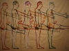 bruce-neuman_untitled_five-marching-men_1985