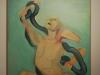 maria-lassnig_woman-lakoon_1976