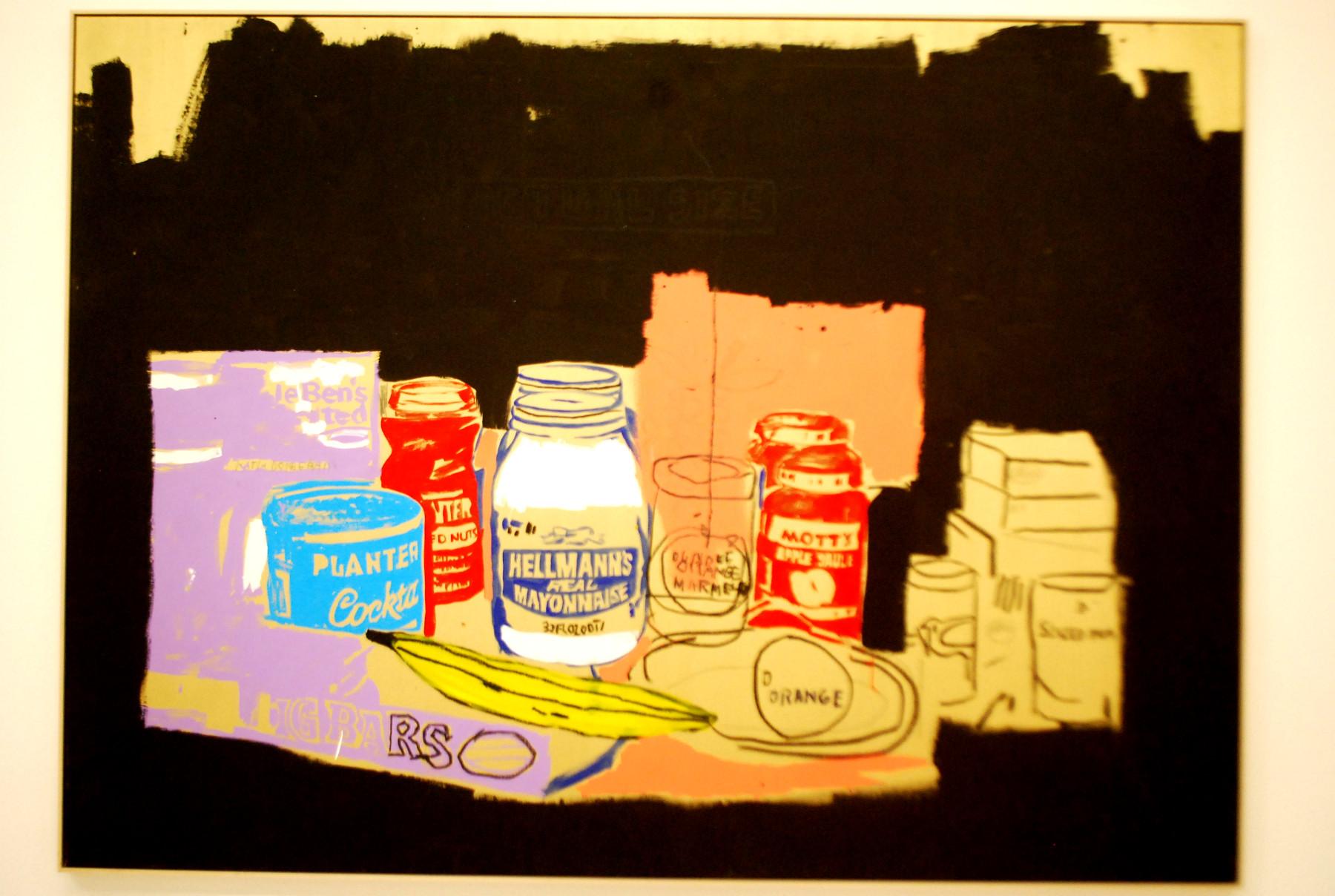 J.-M. Basquiat & A. Warhol