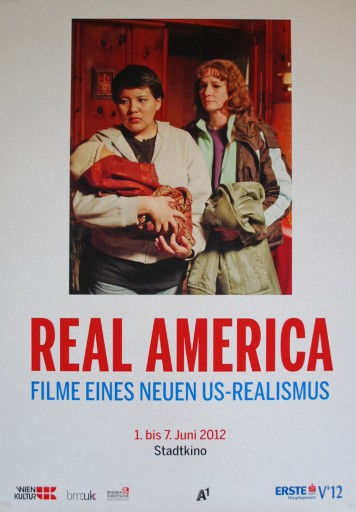 plakat za filmski program Real America