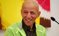 Alex Katz in the ESSL Museum, 2012