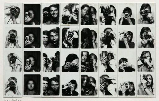 Franco Vaccari, Esposizione in tempo reale num. 4, Modena 1972 © Franco Vaccari