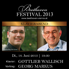 Pianist Gottlieb Wallisch & journalist Georg Markus