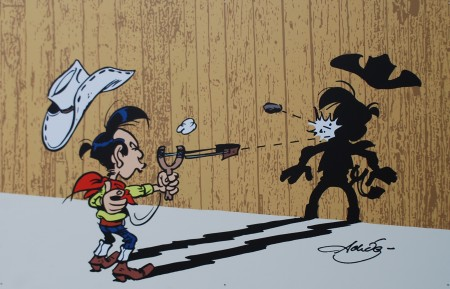 Kid Lucky, Karikaturmuseum Krems