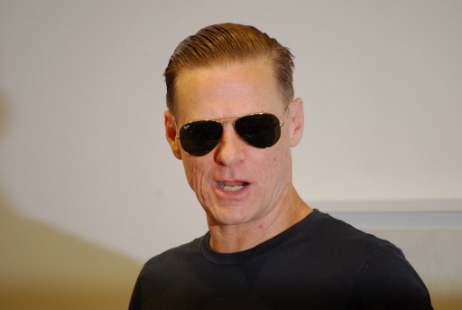 Bryan Adams at the press conference in Ostlicht