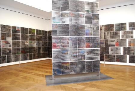 "Manfred Bockelmann, Instalacija ""Horizonti"" (2005), M. Bockelmann ©VBK Beč 2013/ Foto: Marina Richter"
