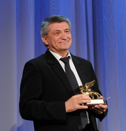 A. Sokurov at the Venice Film Festival
