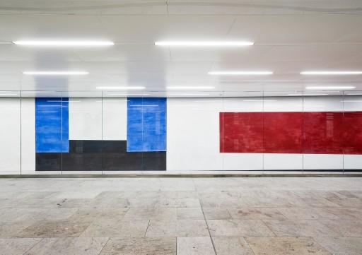 """""""Untitled"""" by Ernst Caramelle, Karlsplatz passage 2013"""