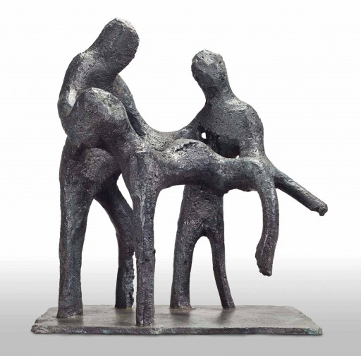 Atelier van Lieshout, The Decent, 2013, bronze