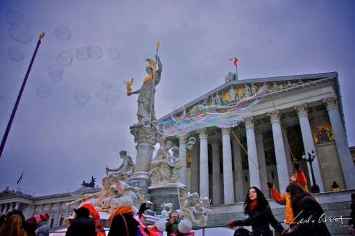 Austrian parliament, Copyright: osaka.at