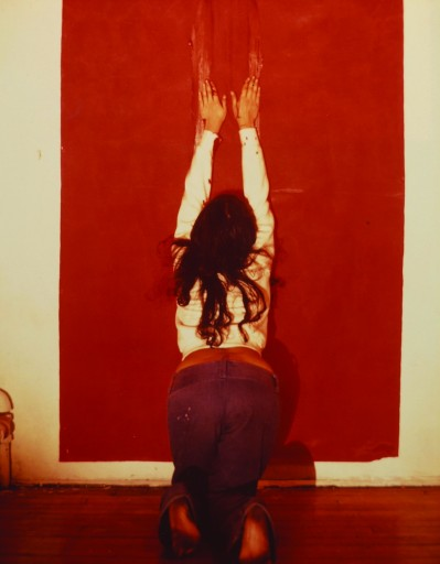 Ana Mendieta Untitled (Body Tracks), 1974 Colour photograph, lifetime print, 25,4 x 20,3 cm Collection Igor Da Costa © The Estate of Ana Mendieta Collection, L.L.C., Courtesy Galerie Lelong, New York and Paris and Alison Jacques Gallery, London