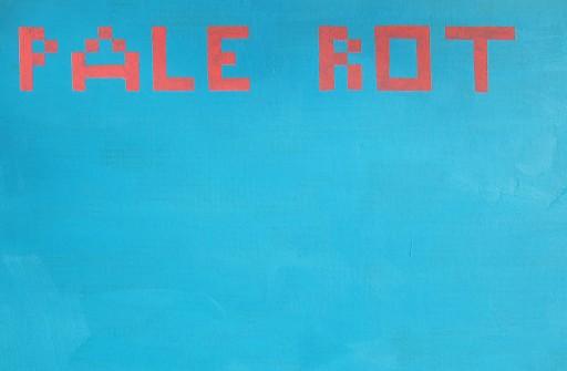 Antonio Ortega, PALE ROT 2013/2014, Karton auf Holz Foto (c) Eva Carasol Courtesy Galerie Elisabeth & Klaus Thoman Innsbruck/Wien