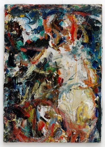 Eugène Leroy, Nu/Nude, 1965,